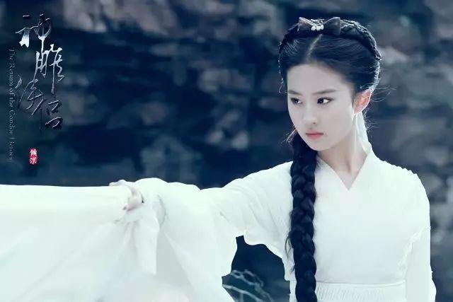 古装剧中的那些白衣仙子们 哪个是你梦中的女神