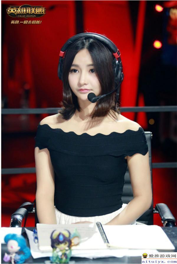 大小姐心软了 Miss韩懿莹今日将与若风共同解说S7小组赛