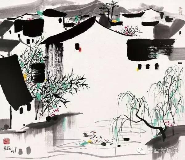 文化 正文  吴冠中用油画来表现中国传统的东方意蕴,这种独特的绘画图片
