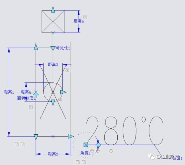 空调风口 cad 平面图