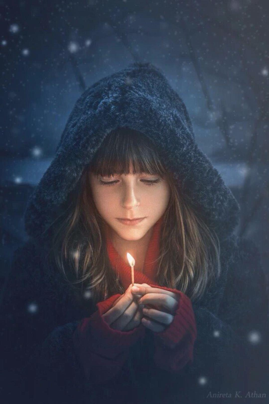 一个小女孩的梦想图片