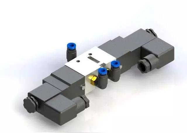 是用来控制流体的自动化基础元件,属于执行器,并不限于液压,气动.图片