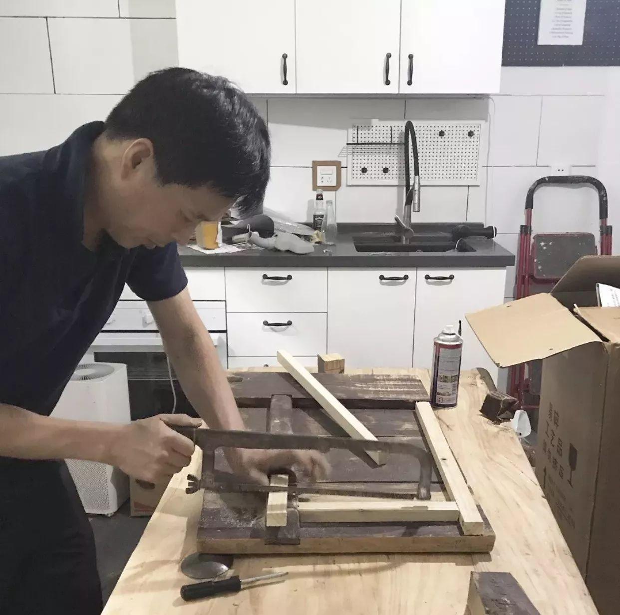 diy手绘木箱