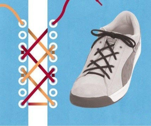 花式鞋带系法帮你赚