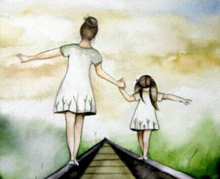 教育 正文  爸爸妈妈总是不厌其烦地牵着,引着我们向前走; 总是百听不