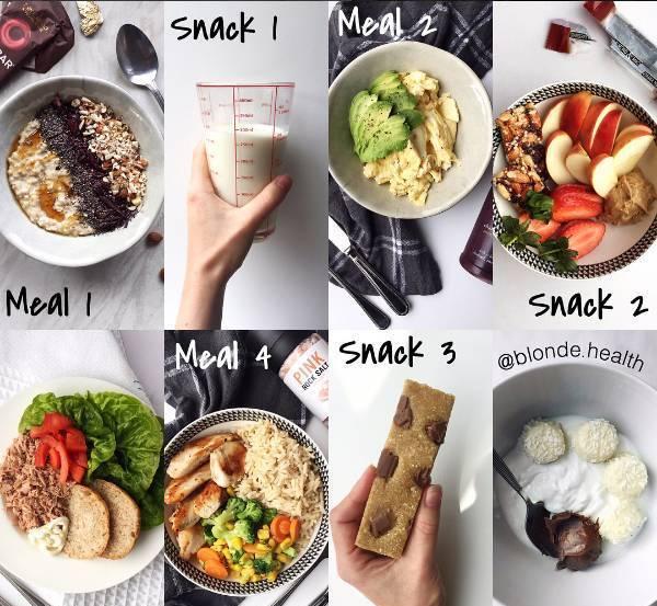 运动减肥餐 一日三餐食谱图片