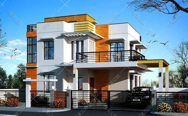 新农村建现代风格小别墅,两个平面图哪个好,80后90后说说