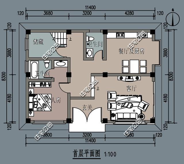 11乘9米房设计图纸