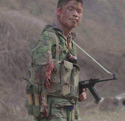 对越反击战拍摄的珍贵照片,最后一张让人感到