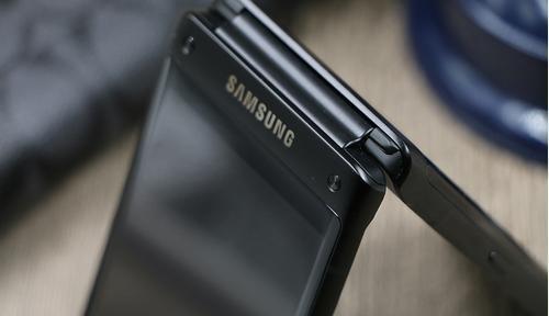 三星g9298旗舰8商务翻盖手机 高端低调奢华图片
