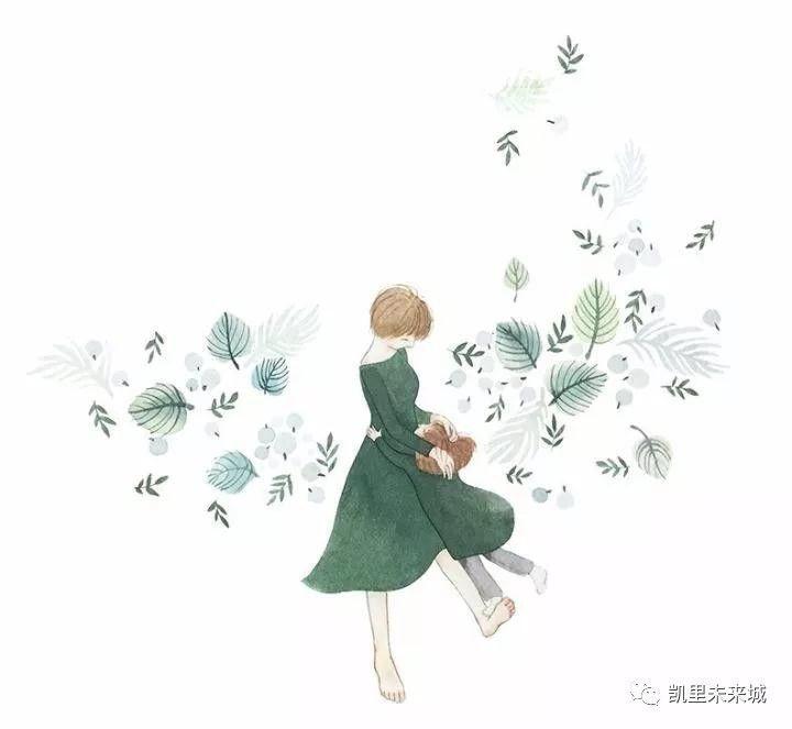 【治愈系】手绘妈妈和女儿的日常生活