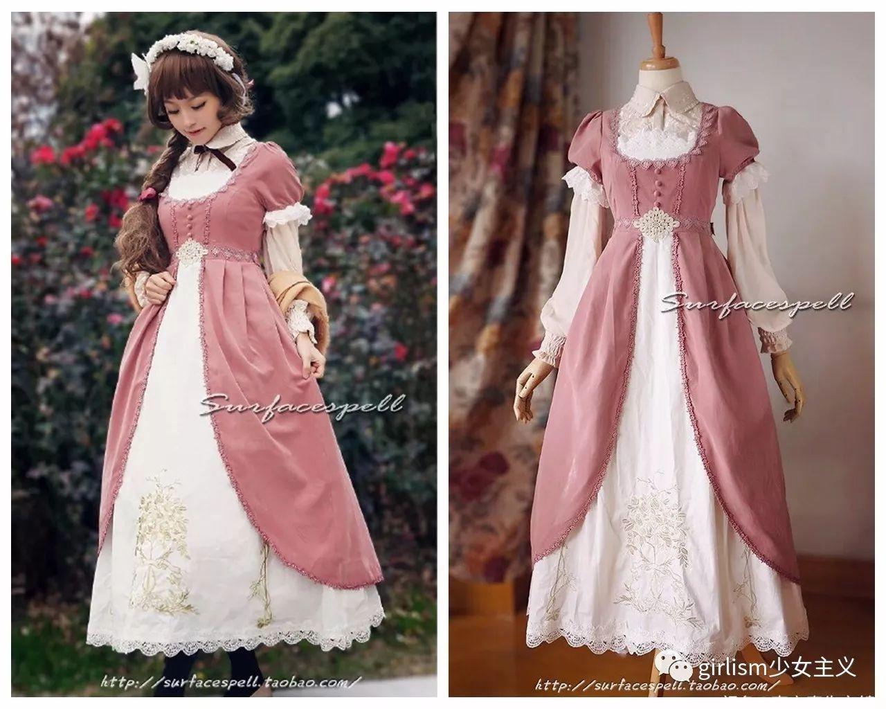 欧洲女装的多样性成为了各种风格的lolita服饰的设计灵感,那么帝政风