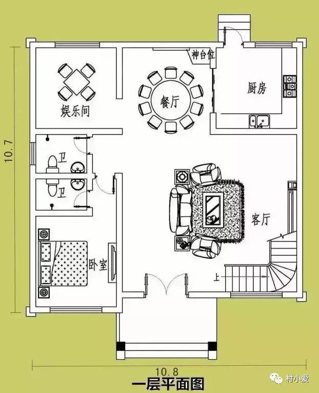 建房平面图