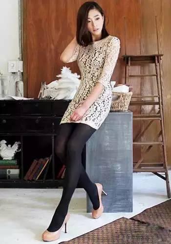 秋天,黑色丝袜这样穿,迷倒见过你的所有男人!