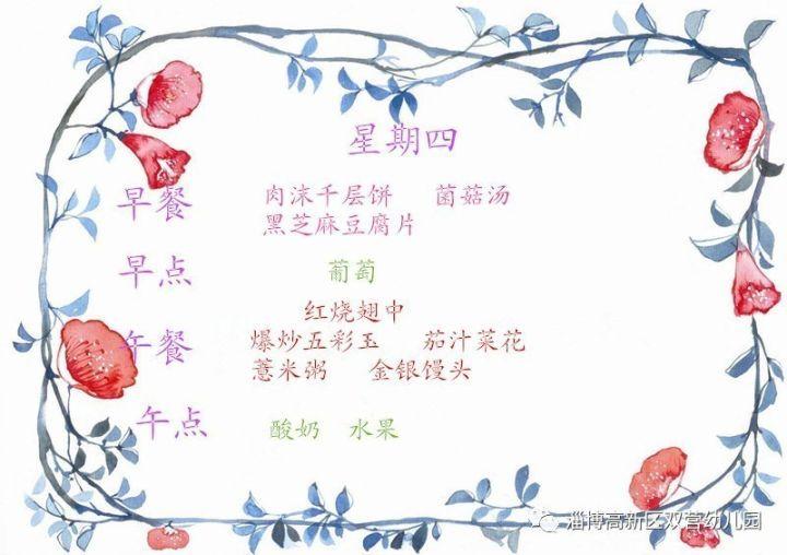 中国风美食ppt边框