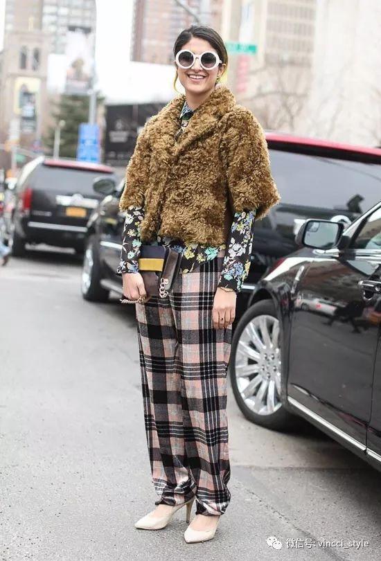 Vincci 情报|时装周上Dior和Hermes都给格纹划重点了,还不赶紧学起来 29