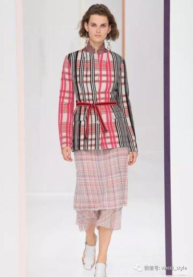 Vincci 情报|时装周上Dior和Hermes都给格纹划重点了,还不赶紧学起来 2
