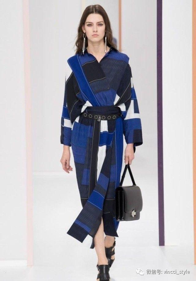 Vincci 情报|时装周上Dior和Hermes都给格纹划重点了,还不赶紧学起来 5