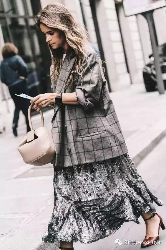 Vincci 情报|时装周上Dior和Hermes都给格纹划重点了,还不赶紧学起来 36