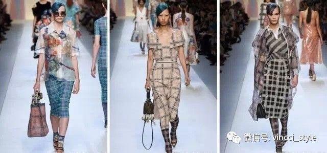 Vincci 情报|时装周上Dior和Hermes都给格纹划重点了,还不赶紧学起来 9