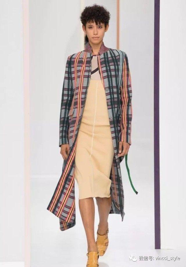 Vincci 情报|时装周上Dior和Hermes都给格纹划重点了,还不赶紧学起来 3