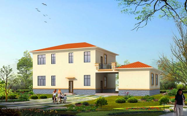 农村二层房子设计图,简单实用,很适合在农村自建!