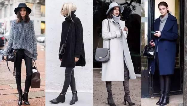 时尚|大毛衣+紧身裤,简约单品穿出不俗气质! 1