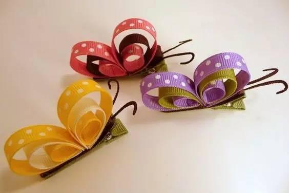 简单的材料,经过手工制作,就可以变成美美的蝴蝶,带着小朋友们一起做