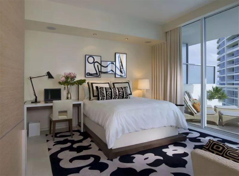 想要让小户型的卧室高大上?你可以试试这样做!