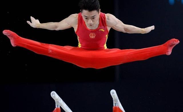 中国新秀邹敬园夺体操世锦赛男子双杠金牌林超攀列第五
