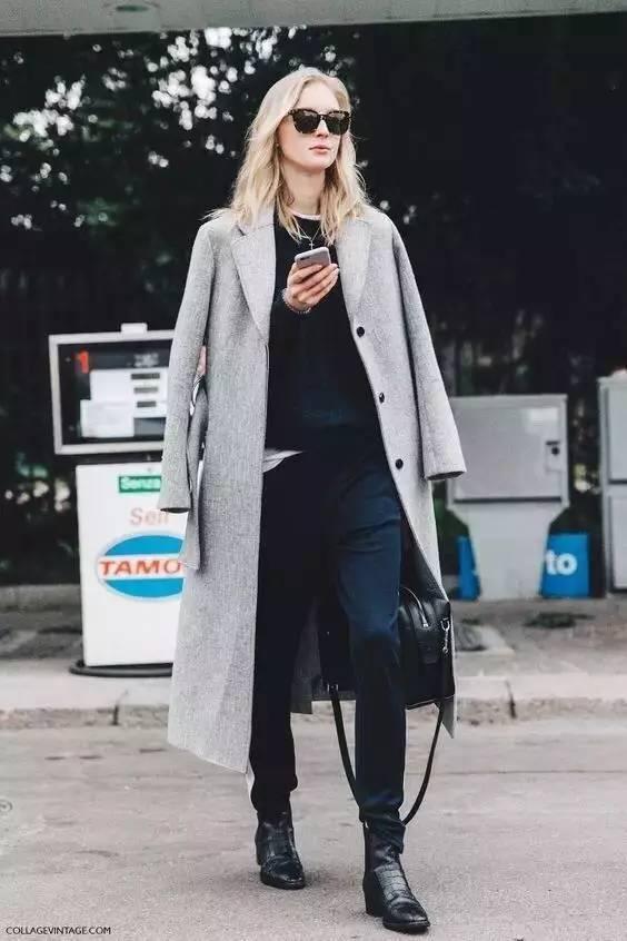 时尚|大毛衣+紧身裤,简约单品穿出不俗气质! 24
