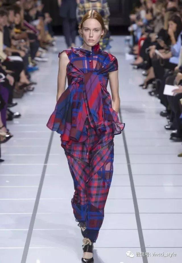 Vincci 情报|时装周上Dior和Hermes都给格纹划重点了,还不赶紧学起来 7