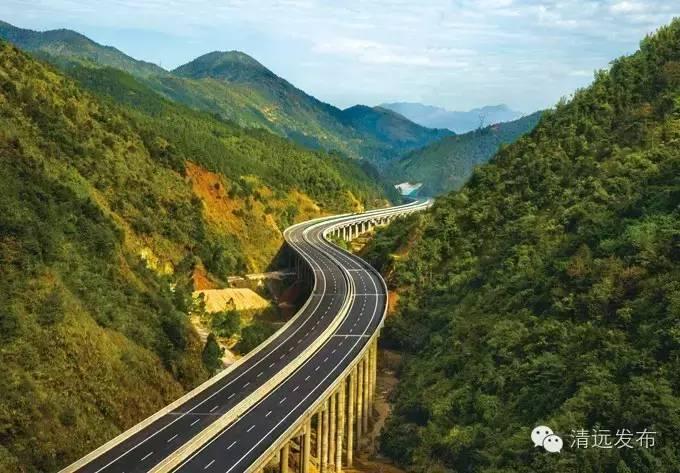 佛清从高速北段,广清与清连高速连接线,汕湛和汕昆高速清远段开工建
