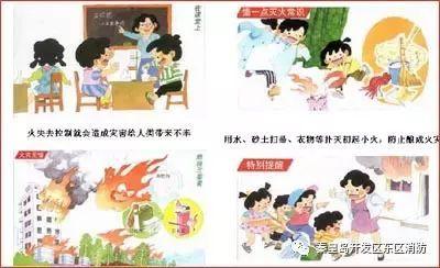 消防知识安全宣传图片系列三:家用电器的防火与灭火-消防知识漫画