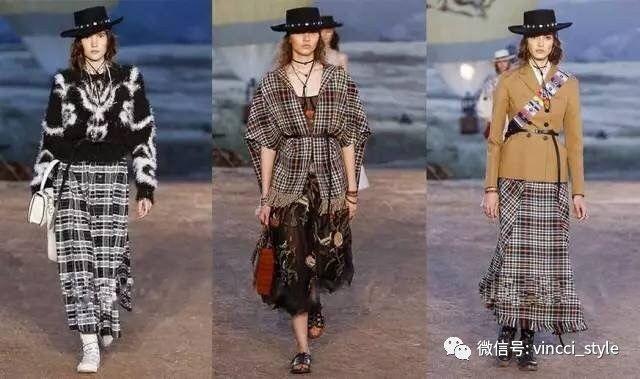 Vincci 情报|时装周上Dior和Hermes都给格纹划重点了,还不赶紧学起来 10