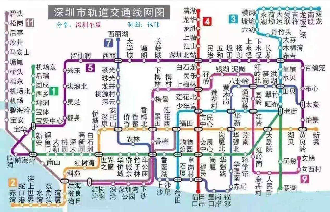 【独家】深圳购物中心考察必备(附12张地铁线路图)_搜狐财经_搜狐网