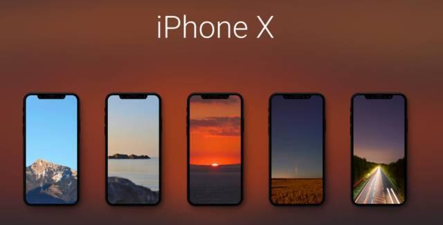 爱壁纸丨iphonex的风景