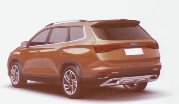 开瑞X80,显然从新车的设计理念中可以看出了比开瑞X60拥有更加成高清图片