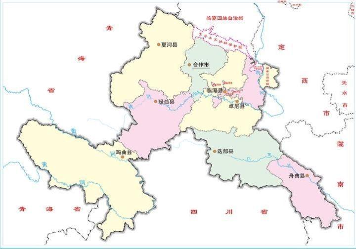 关于甘南7个县城的传说,看看临潭的