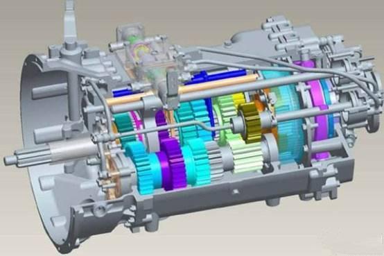 dct6干式双离合变速器