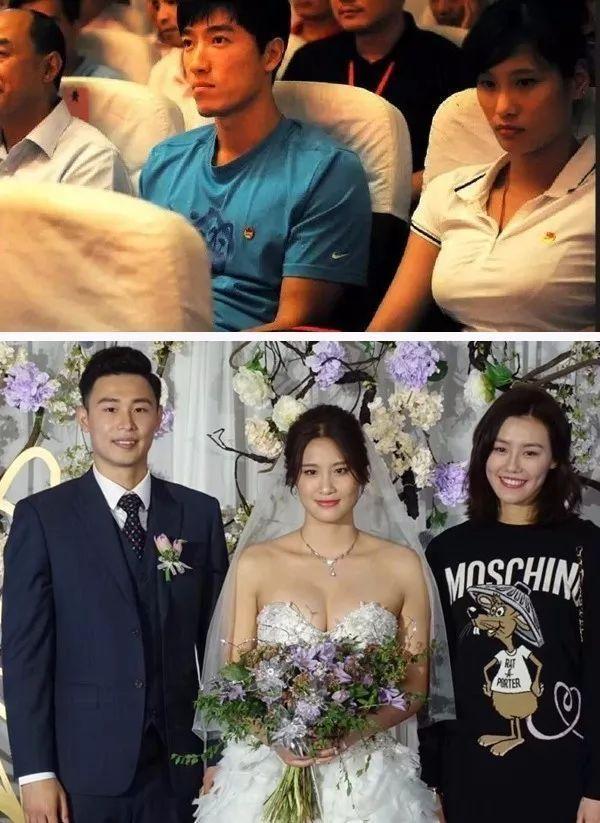 每日杂图:当年坐在刘翔旁边的游泳美女陆滢结婚啦