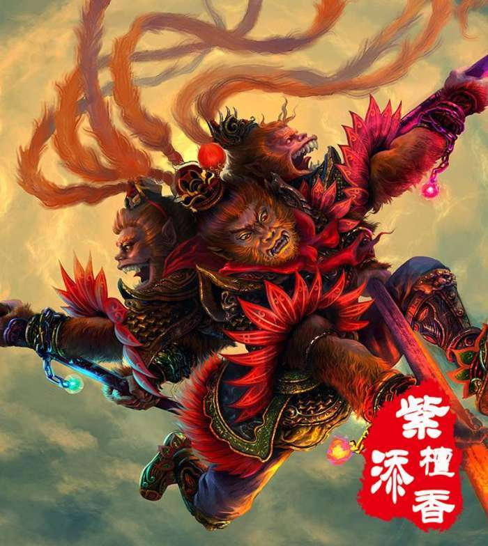 西游记之中的角色,中坛元帅哪吒,威慑万千妖魔慑龙族!