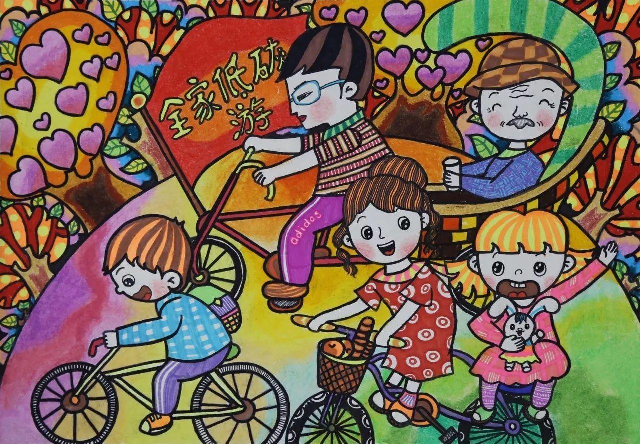 """第十届""""亚太森博杯""""全市中小学生环保绘画大赛开始了!图片"""