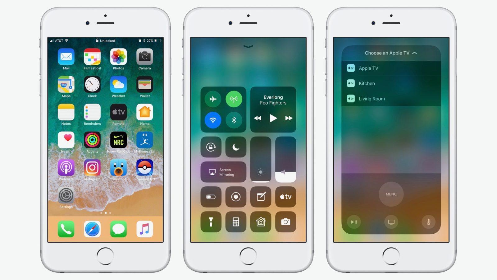 iOS 11估计是史上BUG最多的一个大版本迭代