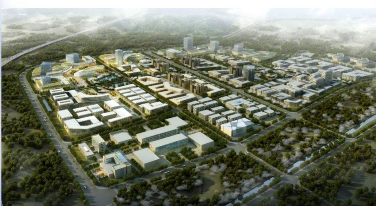 呈贡信息产业园区规划图