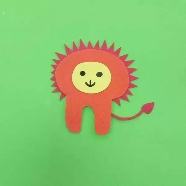 海绵纸手工制作大全图片小动物