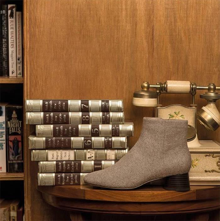 显腿长时髦好搭配,你需要这样一双短靴!
