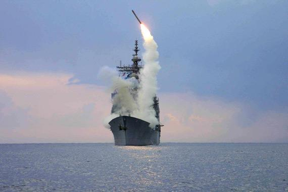 陈光文:055驱逐舰闪亮登场&nbsp;<wbr>美国巡洋舰却要退役&nbsp;<wbr>中美远洋海军游戏咋玩?