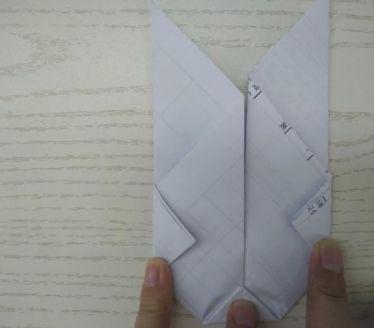 最简单小兔子折纸图解步骤八