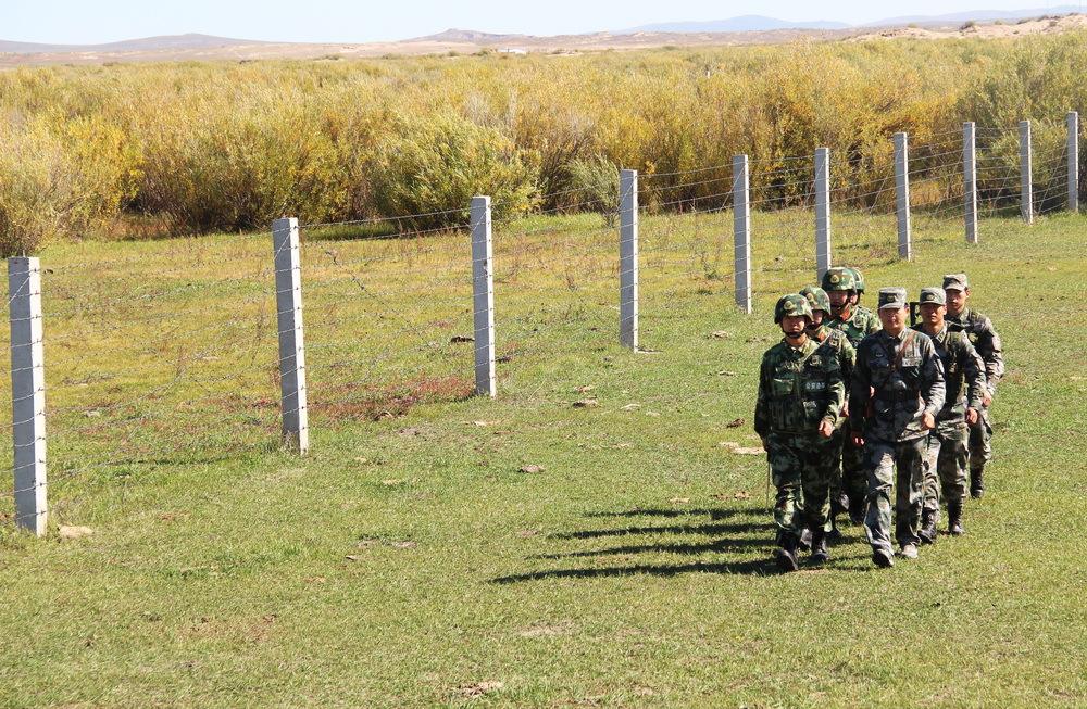呼伦贝尔:边境线上的巡逻队伍